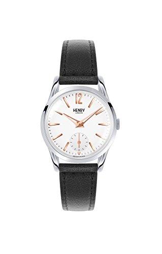 Henry London Unisex-Armbanduhr Highgate Analog Quarz Leder HL30-US-0001
