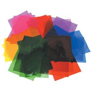 48 Blatt Sortierte Farbige Cellophane A4