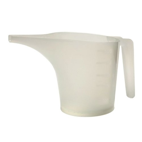 Norpro Translucent White 2-Cup Measuring Funnel Pitcher, Batter Pouring Baking