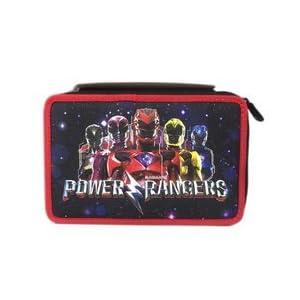 Seven Power Rangers estuche Pieno portacolori Escuela Niño 3cremallera 2017y 2018