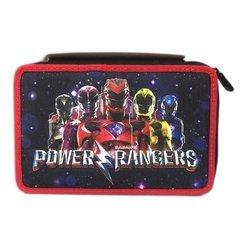 Seven power Rangers Schlamperetui voll portacolori Schule Kinder 3Zip - Kinder 2017 Halloween Kostüme