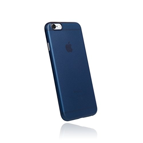 hardwrk Ultra-Slim Case - kompatibel mit Apple iPhone 6 und 6s - matt blau - ultradünne Schutzhülle Handyhülle Cover Hülle in deep sea Blue (Slim 6-cover Iphone Ultra)