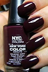 New York Color In A New York Color Minute Quick Dry Nail Polish, Manhattan, 0.33 Fluid Ounce by N.Y.C.