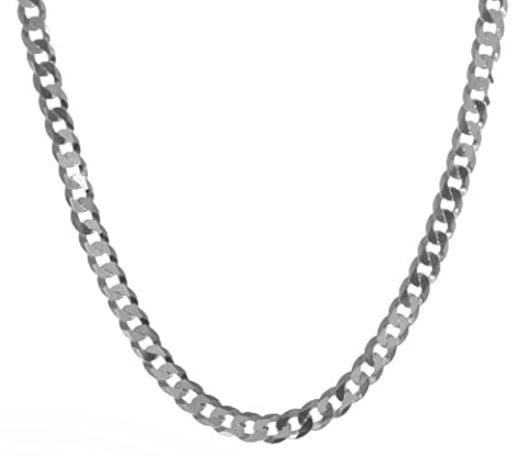 925 Sterling Silver Gents/Men Curb Chain - 22