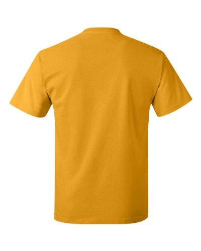 Cheap Trick Logo auf American Apparel Fine Jersey Shirt Braun