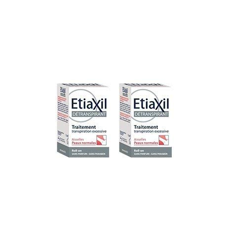 Etiaxil unpe rspirant Roll - On Treatment for armpits Normal Skins 15 ml Pack of 2pcs by ETIAXIL
