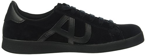 Armani Jeans 935565cc501, Sneakers basses homme Schwarz (NERO 00020)