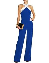 emmarcon tuta con pantaloni lungo vestito abito cerimonia da donna elegante casual party