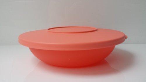 Tupperware Junge Welle Servierschale verschiedene Farben 400ml Schüssel mit Deckel (lachs)