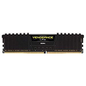 Corsair-VENGEANCELPX16GB-2x-8GB-DDR4-3600-Pc4-28800-C18135V-Desktop-Memory-Black