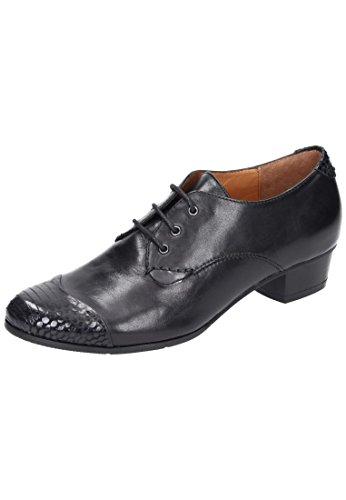 PIAZZA Damen Stiefeletten Stiefel, schwarz, 850289-1 schwarz