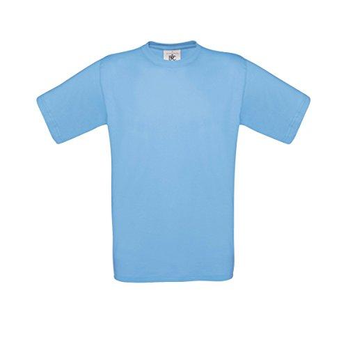 B&C Exact 150 T-Shirt für Männer Sky Blue