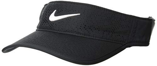 Nike Damen Golf-Visor Tech, black/white, One Size,