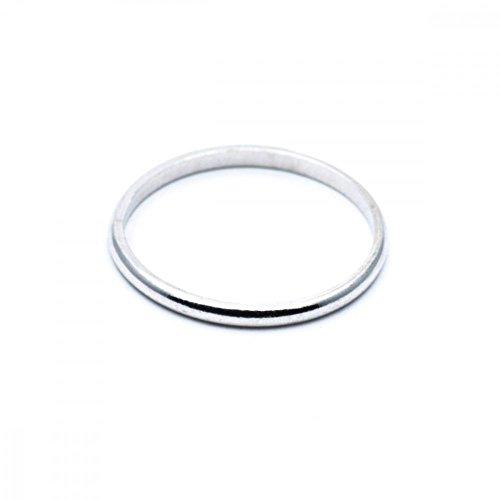 Gioielleria gold gala ferma anello in vero argento 925% rodiato fedina uomo donna made in italy (8)