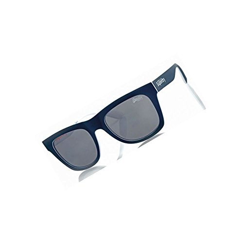 Superdry SDS Byronville 107 Lesebrille Größe 53-21 / blau/weiß / 0 Dioptrien