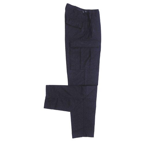 MFH US Pantalon spécial sports de Combat BDU Men's avec 2 genouillères ARRIERE Azul (Blau)