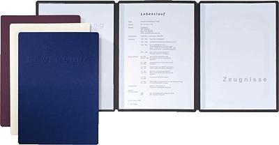 Preisvergleich Produktbild Pagna Bewerbungsmappe 44134-04 sw