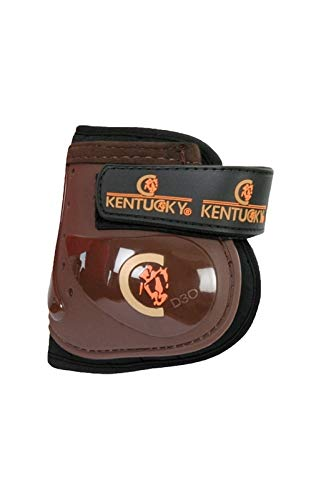 Kentucky Streichkappe Moonboots braun - Kentucky Fetlock Boots Moonboots brown (braun / brown, VB / WB ( Size: full ))
