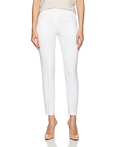 Armani Exchange 8nyp02 Pantalones Blanco Off White 1100 W31 Talla del Fabricante 6 para Mujer