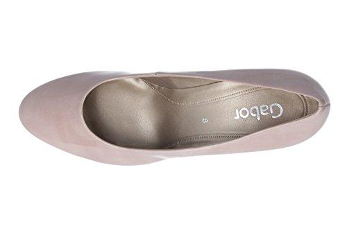 Gabor 25-210 Schuhe Damen Pumps Kaffir Lack Weite F Multicolore (Antikrosa)
