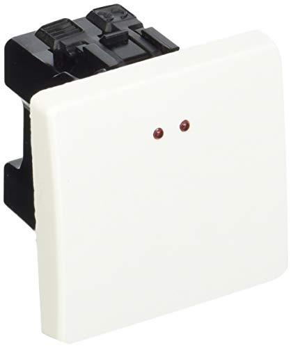 Niessen stylo - Interruptor monofasico visor serie stylo blanco alpino