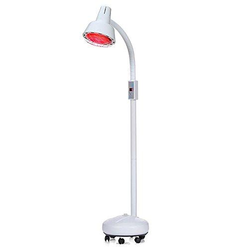 275W Infrarrojo Calor Lámpara Dolor Alivio Eficaz Tratamiento Masaje Artritis Fisioterapia Belleza Salón IR Piso Lámpara Con Ruedas