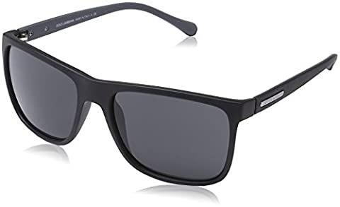 DOLCE & GABBANA unisex - adults 6086 Sunglasses, black