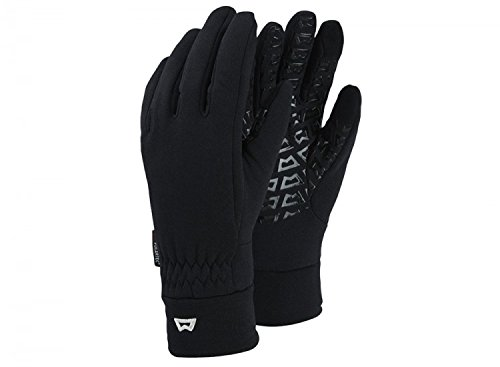 Touch Grip Glove Black Black