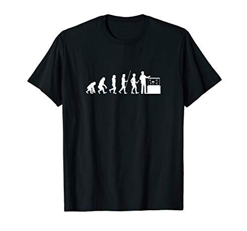 Aquarianer Evolution Aquarium Aquarien Zierfische Geschenk T-Shirt