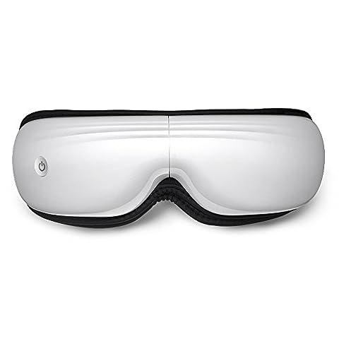 FUFU Massager Augenmassager Augenpflegeinstrument Augenmassageinstrument Heißpaket Augennanny Schützen Sie Augenlicht USB-Gebühr Falten bewegliches Mit Wärmefunktion ( Farbe : Weiß )