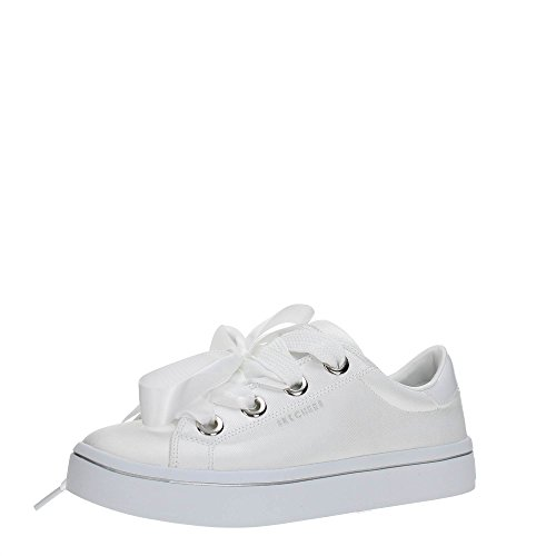 Skechers Hi Lite-Satin Stoppers, Sneaker Donna White