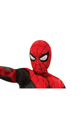 Referenz Kostüm Superheld - Rubie's Offizielle Marvel Spider-Man Far from Home Maske Snood, Kinderhandschuhe, Einheitsgröße, Rot und Schwarz