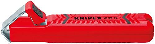 KNIPEX 16 20 28 SB Outil à dégainer boîtier en plastique résistant aux chocs 130 mm