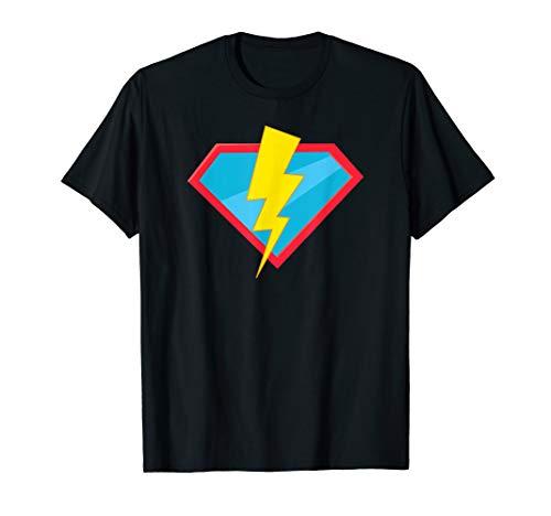 Herren Kostüm Blitz - Superheld Blitz Kostüm Halloween Ironic Scary Gift T-Shirt