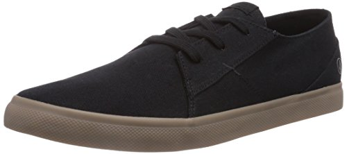 Volcom Lo Fi Shoe, Scarpe da skateboard uomo, Nero (Schwarz (Sulfur Black / Slf)), 42.5