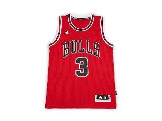 adidas Int Swingman Maillot Chicago Bulls de basketball pour homme, Noir (Nba Chicago Bulls 1-300), 2XL