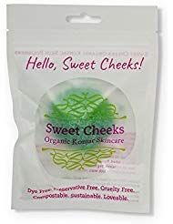 Sweet Cheeks Organic Konjac Skin Polisher for Face and Body Buy Today Get Pure Free (Peppermint)