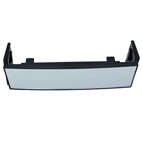 WINOMO Rückspiegel des großes Auto Drei Falten gebogener Oberfläche Weitwinkel Rückspiegel Faltreflektor mit Breite Vision