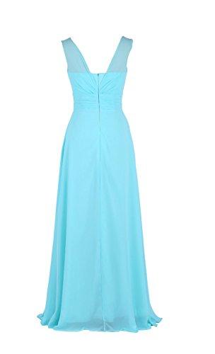 YiYaDawn -  Vestito  - stile impero - Donna Blu reale