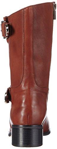 Giudecca JY1510-1 Damen Biker Boots Braun (Red Brown)