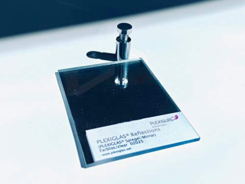 Original Plexiglas Reflection Acrylglas Spiegel 3 mm Zuschnitt, Größe: 900x900