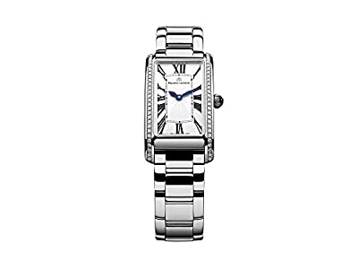 Maurice Lacroix Fiaba Ladies Rectangular Quartz watch, Silver,FA2164-SD532-118-1