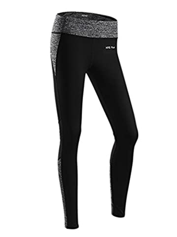 YeeHoo Seamless Sports Base Layer Compression High Waist Leggings Plus Size for Women