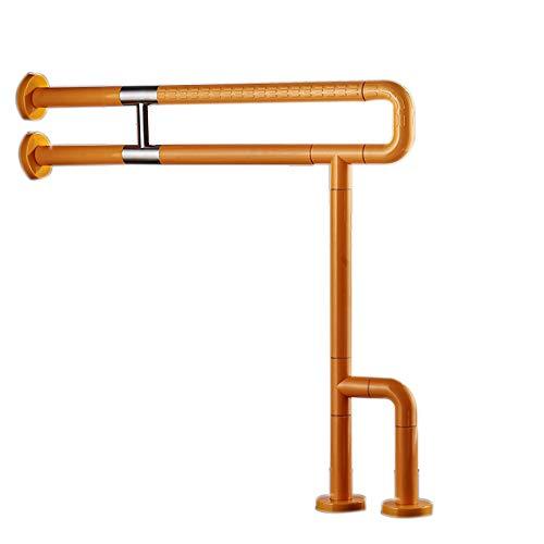 Preisvergleich Produktbild Verstärken Sie die Toilettenhandlauf,  Badezimmer WC Handlauf (Farbe : Gelb)