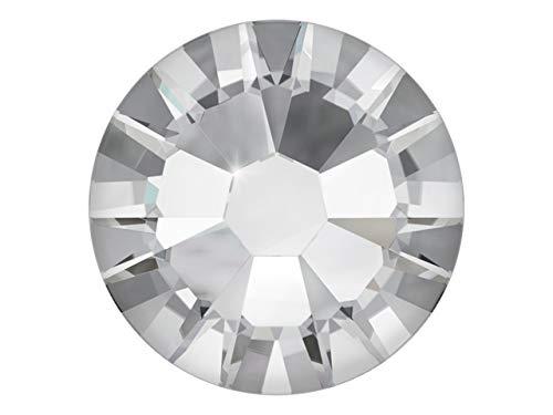 100 Nail Art Kristalle - SWAROVSKI® Crystal - XILION Rose - Flat Back No Hotfix - Nagel-Design Strass Steine zum Aufkleben - crystal 1.75mm