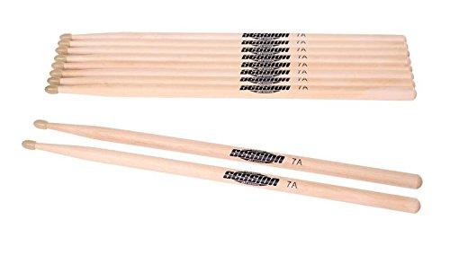 XDrum Schlagzeug Sticks 5B Nylon Tip 5 Paar