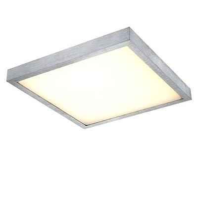 LICHT-TREND LED-Deckenlampe, 30 x 30 cm, 12W, Alu-matt 1110005 von LICHT-TREND auf Lampenhans.de