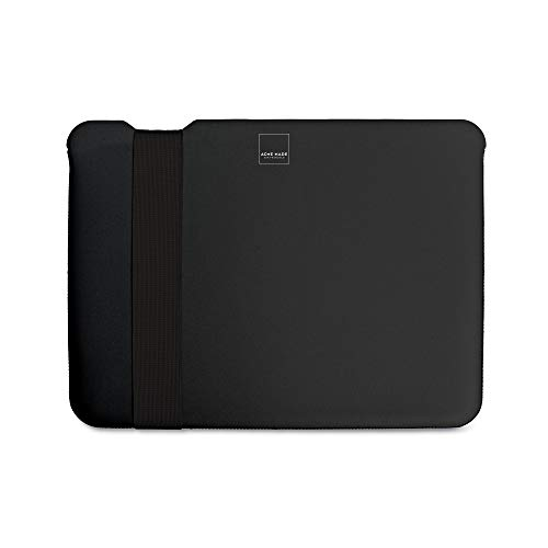 Acme Made Skinny Sleeve M, Ultra-dünne Notebookhülle, 13-14 Zoll, Neopren, schwarz (Made Macbook Acme Air)