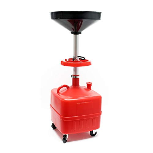 Recuperatore olio esausto Carrello per recupero olio con serbatoio di raccolta 35L