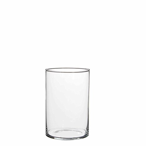 Mica decorations 1022989 Cilla Vase, Glas, Transparent, 13 x 13 x 20 cm